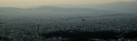 Smog in Athens; image under creative commons license: athensgreece070_F